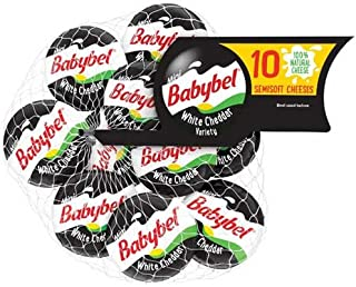 Mini Babybel White Cheddar Cheese, 7 Ounce -- 12 per case.
