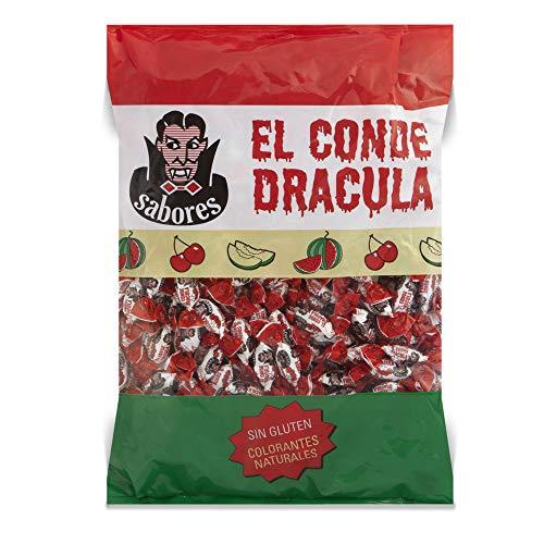 Cerdán Caramelos duro El Conde Drácula dos Lazos sabor Cereza 300 Unidades 1 kg