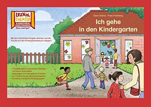 Kamishibai: Ich gehe in den Kindergarten: 7 Bildkarten für das Erzähltheater
