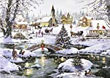 Village Lights Deluxe Boxed Holiday Cards (Christmas Cards, Greeting Cards)