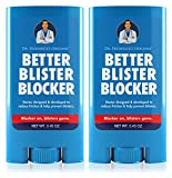 Dr. Frederick's Original Better Blister Blocker 0.90 oz - 2 Pack - Anti Chafing Stick - Balm for Blister Prevention and Pain Relief