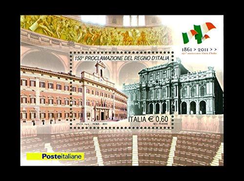 LaVecchiaScatola 2011 proclamazionel Regno d'Italia - FOGLIETTO MNH/**