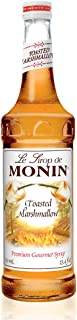 Monin - Toasted Marshmallow Syrup, Flavor of Campfire Treats, Natural Flavors, Great for Mochas, Shakes, Cocoas and Cockta...