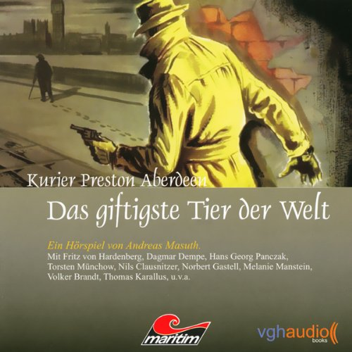 Das giftigste Tier der Welt audiobook cover art