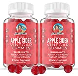 Apple Cider Vinegar Gummies for Weight Management Support 1000mg with The Mother – Complete Cleanse and Detox Plus Healthy Digestion Support and Appetite Management – 60 Vegan Gummies (2-Pack)
