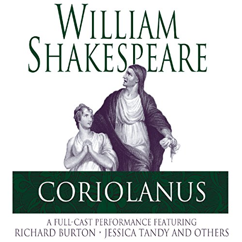 Coriolanus audiobook cover art