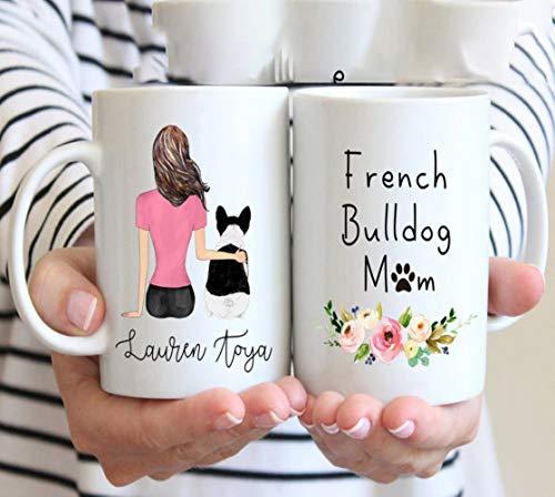 Funny French Bulldog Mug Custom Frenchie Mug French Bulldog Mug French Bulldog Mom Gift