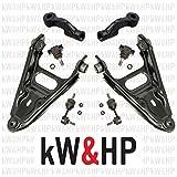 KW0041T - kW&HP KIT BRACCI BRACCETTI TRAPEZI OSCILLANTI, BIELLETTE, GIUNTI DI SUPPORTO E TESTE BARRA D'ACCOPPIAMENTO
