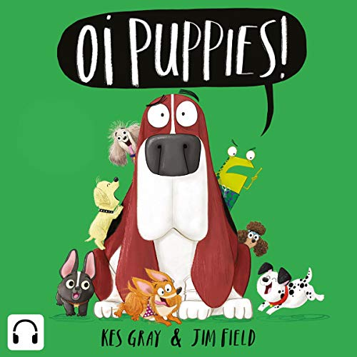 Oi Puppies! audiobook cover art