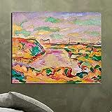 tzxdbh 20X25cmMit Rahmen Georges Braque Landschaft in der