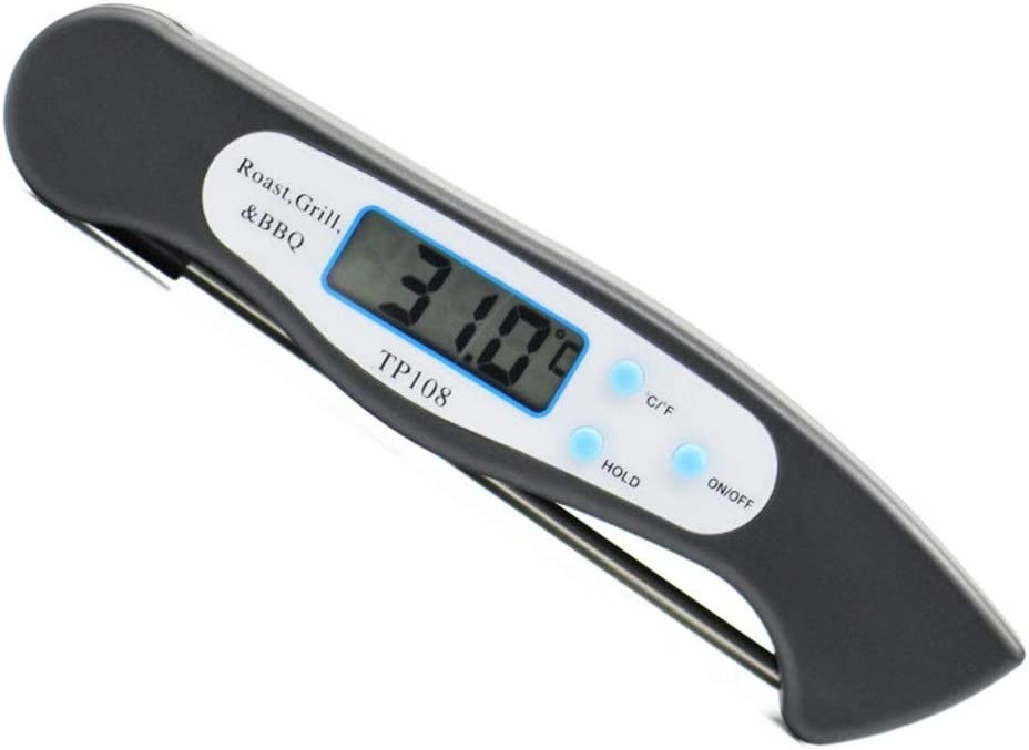 Meat Soldering Thermometer Kitchen Cooking Folding Max 61% OFF Thermo Food