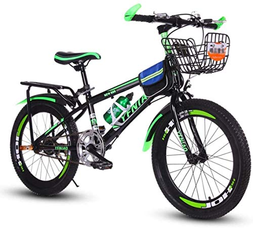 Best Bargain HongLianRiven BMX Kids Bike,Mountain Bicycle,Student Bike,Hard Tail Bike, 18/20/22 Inch...