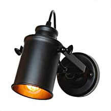 Wall Light Wall Lamp Retro Industrial Wall Light Adjustable Light Sconce Fixtures For Restaurant Bedside Cafe Home Lighting