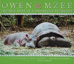 Owen and Mzee by Craig Hatkoff, Isabella Hatkoff,  Paula Kahumbu, with photographs by Peter Greste