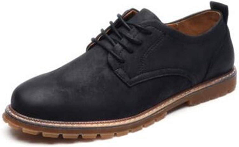 BININBOX Men Modern Retro Fashion Sneaker Casual Dress shoes Microfiber