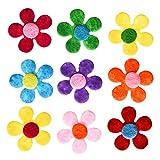 Zoom IMG-1 sumind 100 pezzi feltri fiori