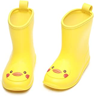8aec3634e7 Amazon.com: Yellow - Rain Boots / Outdoor: Clothing, Shoes & Jewelry