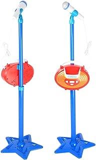 Micrófono Kidi Super Star Karaoke Música máquina de Karaoke Juego de Juguete con Micrófonos y Soporte Regulable a Todos Sus Dispositivos Electrónicos