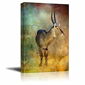 wall26 - Canvas Wall Art - Abstract Wild Animal Series