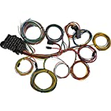 22 Circuit Universal Street Rod Wiring Harness w/Detailed Instructions...