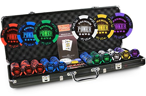 Poker Poker-Valigetta Poker, 500 fiches