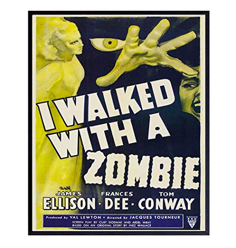 Zombies Movie Poster - 8x10 Vintage Hollywood...