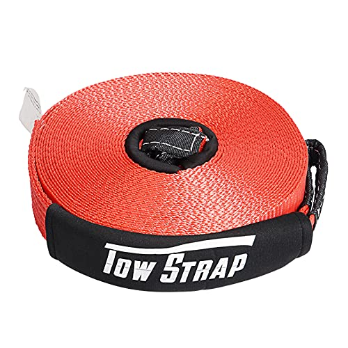 AYLEID Heavy Duty Tow Strap Recovery Strap 2