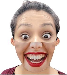 GX·Diffuser Adulte Tissu Lavable Et Réutilisable Unisexe Drôle Humour Imprimee Bandana Pour Homme Et Femme Halloween Noël ...