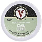 Kona Blend for K-Cup Keurig 2.0 Brewers, 80 Count, Victor Allen's Coffee Medium Roast Single Serve Coffee Pods