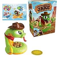 電気ガラガラヘビのおもちゃ、カラフルな24個のパズルで面白い電気ガラガラヘビのおもちゃ怖いガラガラヘビいたずらおもちゃトラップ子供のためのインタラクティブゲーム
