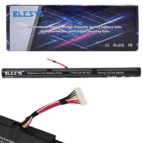 BLESYS 15V/48Wh A41N1501 A41LK9H L41LK2H Laptop Akku für ASUS N752 N752V N752VW N752VX N752VX-GC197T N752VX-GC131T N752VX-GC146T Notebook Akku