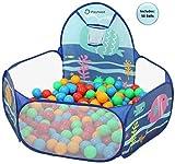 Playhood Sea Ball Pool for Kids | with 50 Colourful Balls |