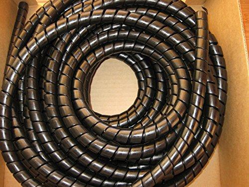 Manguera hidráulica en espiral, 18-24 mm, excavadora JCB para tractores forestales, 5 metros