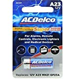 ACDelco 12-Count A23 Batteries, 12V Maximum Power Super Alkaline Battery, 10-Year Shelf Life