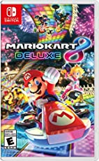 Image of Mario Kart 8 Deluxe. Brand catalog list of Nintendo. Rated with a 4.8 over 5