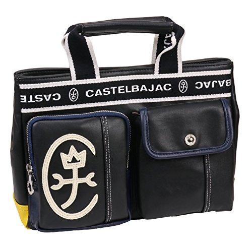 [CASTELBAJAC(カステルバジャック)] ミニトートバッグ Domine(ドミネ) 024511 ブラック