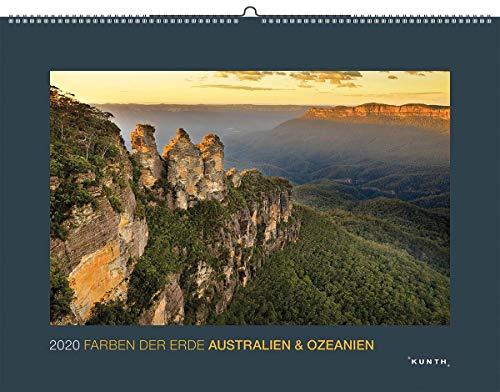 Farben der Erde: Australien & Ozeanien 2020: Kalender 2020 (KUNTH Wandkalender Black Edition)