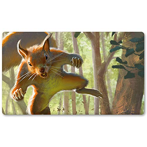 Squirrel-Token - Board Game MTG Playmat Table Mat Games Size 60X35 cm Mousepad Play Mat for Yugioh Pokemon Magic The Gathering