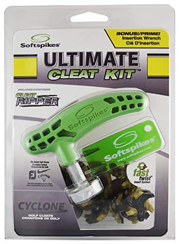 Softspikes Ultimate Cleat Kit, Cyclone Fast Twist