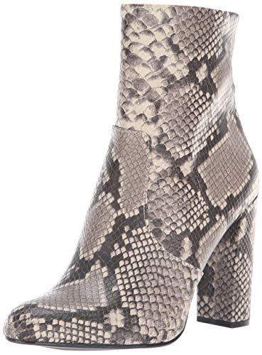 Steve Madden women's EDITOR Over the Knee Boot, natural snake, 9 M US