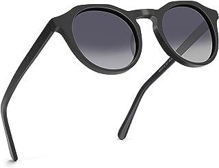 ZENOTTIC Vintage Round Polarized Sunglasses for Men Women UV400 Protection