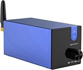 SMSL SA100 HiFi Amplifier Bluetooth 5.0 Power Amp 50W x 50W TPA3116D2 Chips Class D Amplifiers Treble Bass Mini HiFi Amp(B...