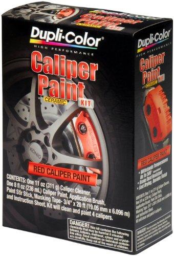 Dupli-Color (BCP400-2 PK) Red Brake Caliper Paint Kit - 8 oz. Aerosol, (Case of 2)