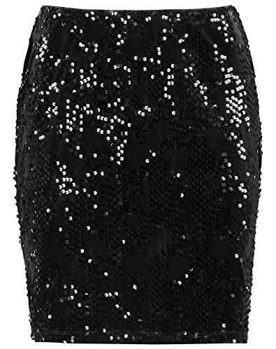 Taifun Damen 411016-16806 Rock, Schwarz (Black 1100), X-Large (Herstellergröße: XL)