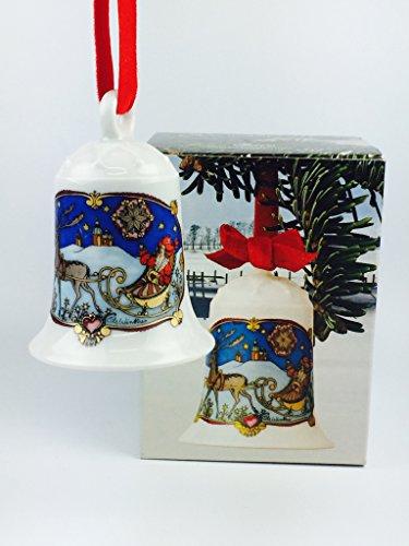 Hutschenreuther Porzellan Weihnachtsglocke 1978 **Erstausgabe** in der Originalverpackung NEU 1.Wahl