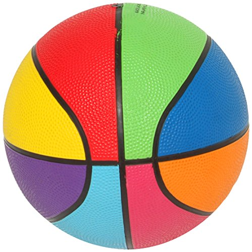 First-Play Mini Rainbow Basketba...