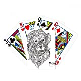 Animal Big Mouth Picture Monkey Poker Jugando Magic Card Fun Juego de mesa