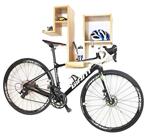 JXS-Outdoor Montado en la Pared de Almacenamiento de Bicicletas - Bicicleta...