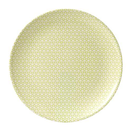 Royal Doulton Plat 32.5 cm Pastels, Mélamine, Multicolore, 32.3 x 32.3 x 2.2 cm