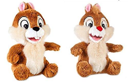 Disney Chip n Dale Rescue Rangers exclusivo de 17,7 cm y 17,7 cm de felpa Dale de 17,7 cm